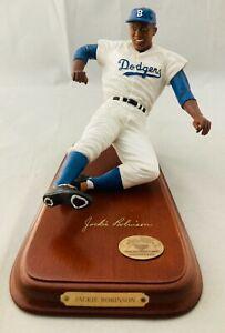 Danbury Mint Jackie Robinson Brooklyn Dodgers Statue Figurine MLB Baseball #42