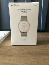 Withings/Nokia Steel HR Hybrid Smartwatch Activity,Fitness Heart Rate tracker