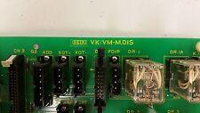 hitachi Seiki Circuit Board VK/VM M DIS   Seicos VKVMMDIS VK/VM-M.DISM      #2