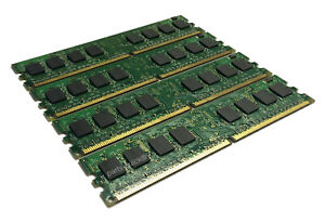 4GB 4x 1GB Memory for Dell Dimension 8400 DDR2 PC2-6400 800Mhz NON-ECC RAM