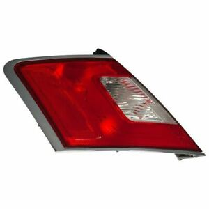 OEM NEW 2010-2012 Ford Taurus LH Driver Side Tail Light Chrome Trim BG1Z13405A