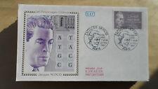FDC Enveloppe Premier Jour - CEF - Jacques Monod - 21/02/1987 - Paris