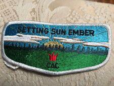 OA BSA SETTING SUN EMBER CAC 1920 2000 FLAP LIMITED PRODUCTION PROTOTYPE MINT