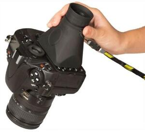 """HOODMAN H32 HOODLOUPE 3.2"""" LCD VIEWFINDER LOUPE GLARE FREE VIEWING OF IMAGES"""