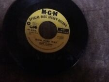 "Merle Kilgore ""The Bell Witch/Slow Hard Way"" 45 Rpm PROMO MGM"