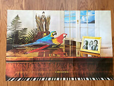 Wings Paul McCartney C Bechstein Double Sided Poster Greatest Hits Capital Piano