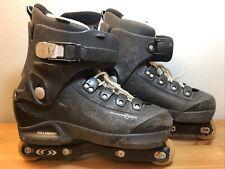 New listing SALOMON ST Ninety ST90 Aggressive Inline Skates Men's 9 Trick Rollerblades RARE