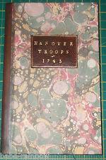 1743 - PHILIP DORMER STANHOPE - ORIGINAL PAMPHLET - 'CASE OF THE HANOVER TROOPS'