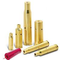 Red Dot Laser Cartridge Brass Bore Sighter Caliber Cartridge Boresighter Tool