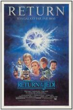RETURN OF THE JEDI - R85 - Original Rolled 27x41 Movie Poster - HARRISON FORD