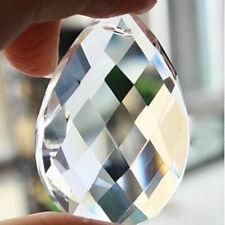 50PCS Lot Clear Chandelier Glass Crystal Lamp Prisms Drops Suncatcher Pendants