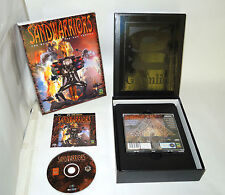 SAND WARRIORS complete big box pc videogame by Gremlin sandwarriors