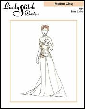 """Bone China / sewing pattern for the 21"""" Modern Cissy by Madame Alexander"""
