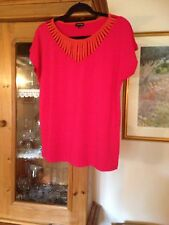 """Bnwot Jeager Stretchy Tshirt Top L 42"""" L26"""" Rrp£65"""
