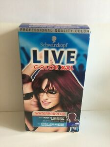 Schwarzkopf Live Hair Color XXL Permanent Colour 46 CYBER PURPLE Long Lasting