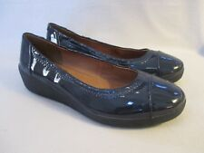 NEW FITFLOP FF2 F-Pop Ballerina Flats Supernavy Patent Leather SZ 5 EU 36 $125