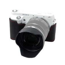 New HORUSBENNU HC-N5R Synthetic Leather Camera Half /Bottom case for SONY NEX-5R