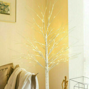 60cm-Easter Birch Tree with Light Branch LED Christmas Twig Tree Lamp Decoration