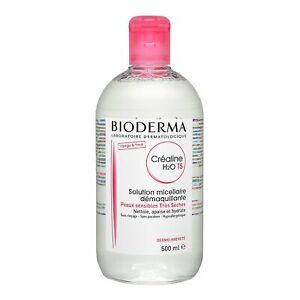 Bioderma Crealine H2O Ultra-Mild Non-Rinse Cleanser Very Dry Sen Skin 500ml