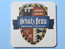 Beer Coaster ~ SCHULZ BRAU Brewing Co ~ Knoxville, TENNESSEE ~ Neuschwanstein