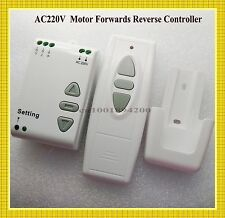 AC 220V Motor Remote Controller Forwards Reverse Remote Switch Up Down Stop RXTX