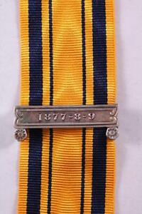SOUTH AFRICA SERVICE MEDAL RIBBON CLASP ANGLO ZULU WARS 1877 8 9 MILITARY AWARDS