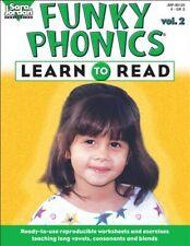 Learn to Read: v. 2 (Funky Phonics) - Very Good Book Sara Jordan