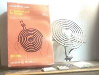"Vintage General Electric - 8"" Surface Unit For Range - GE P/N: WB30X348R (NOS)"