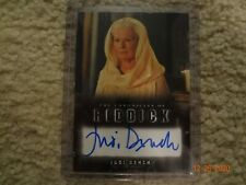The Chronicles of Riddick Judi Dench as Aereon Autograph Rittenhouse