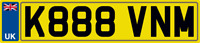 KEVIN M NUMBER PLATE KEVINS PRIVATE CAR REG K888 VNM ALL FEES INCLUDED KEV KEVS