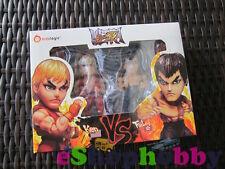 Kids Logic Street Fighter Ken & Fei Long Stylized Action Figure Set 2-packs
