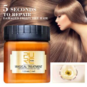 120ml PURC Magical keratin Hair Root Repair Hair Treatment Care Mask Nourishing