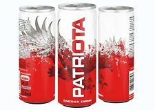 Energy Drink PATRIOTA 250ml FULL PALLETE (120 cases x 24 cans) 2880 pcs/pallete