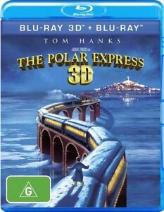 THE POLAR EXPRESS 3D [3D + BLU-RAY]  REG B..NEW & SEALED   V5