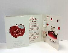 Nina L' Elixir by Nina Ricci x3 Vials Eau de Parfum 0.04 fl oz NEW Lot M