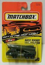 Matchbox NASA Rocket Transporter Green 60