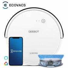 ECOVACS DEEBOT 605 520ml Robot Aspirateur-laveur - Blanc