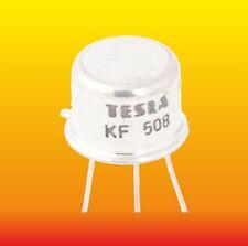 KF508 LOT OF 5 TESLA SILICON NPN TRANSISTORS 0.8 W 0.5 A ~ 2N4943 2SC2208 40635S