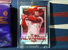 Yordan Alvarez RC 2020 Topps Fire RED BLAZE PARALLEL RARE #195 Rookie Astros