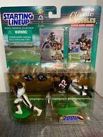 2000 Starting Lineup Super Bowl XXXlll Series Terrell Davis & Jamal Anderson