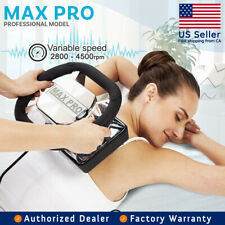 Chiropractic Massager Professional Rub Variable Speed Massager Max Pro