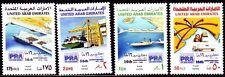 UAE 1988 ** Mi.255/58 Hafen Harbour Schiffe Port Rashid Ships