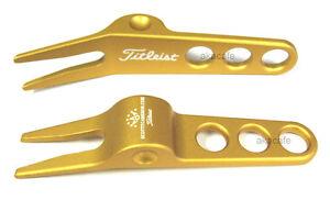 Titleist Scotty Cameron GOLD Golf Divot Tool - New!