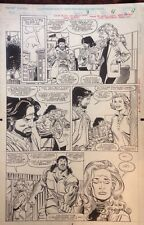 Original Interior Page Thunderstrike #9 pg 4 by Ron Frenz and Al Milgrom (1994) Comic Art