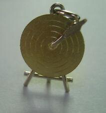 18 karaat gouden hangertje boogschieten doel