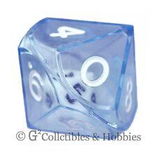 NEW Blue Double Dice RPG Gaming D10 Ten Sided Die