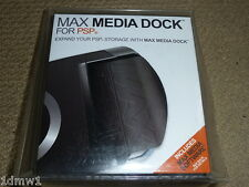 SONY PLAYSTATION PSP MAX MEDIA DOCK & USB CABLE BRAND NEW! Compact Flash Support