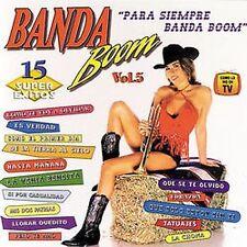 Banda Boom Vol. 5 (Cassette, 1999, Protel) NEW