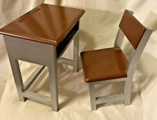 """18"""" Doll SCHOOL DESK AND Chair, Laurent, Fits American Girl Dolls"""