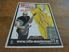 JOE SATRIANI - 2006 CONCERT!!!1!!!!FRENCH PRESS ADVERT